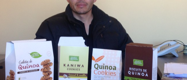 Day 34 – Following the value chain – quinoa cookies!