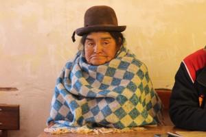 Tia - quinoa farmer from Bella Vista.