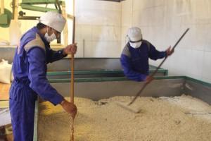 drying-the-quinoa